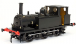 Dapol 7S-010-015 Terrier A1X Plain Black